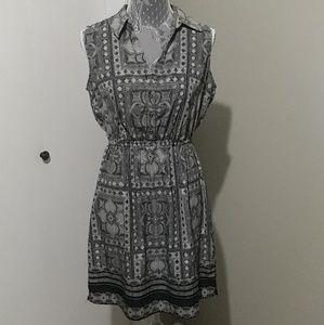 Alfani sleeveless collared dress